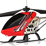 Outdoor Remote Control Rc Helicopter Display & Gyro Plane Flying Airplane Toy