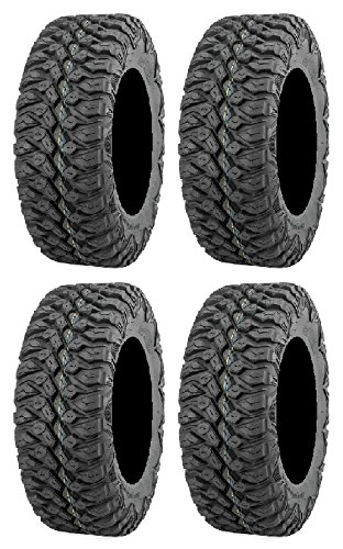 Full set of QuadBoss QBT846 (8ply) Radial 30x10-14 ATV Tires (4)