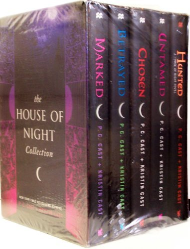 Marked / Betrayed / Chosen / Untamed / Hunted - Book  of the House of Night