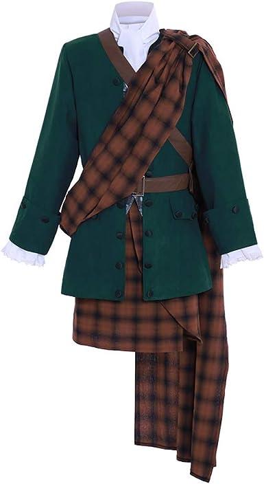 Fortunehouse Outlander Falda Escocesa de Vestir para Hombre ...