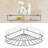 1pc Shower Corner Shelves No Drill Wall Mounted