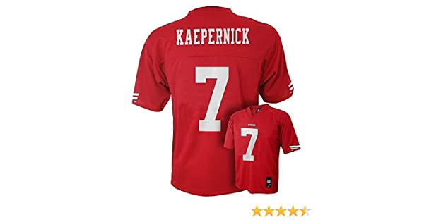 ff63c8381b6 Amazon.com   Outerstuff Colin Kaepernick San Francisco 49ers Baby Red Name  and Number Jersey - 18 Months   Sports   Outdoors