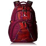 High Sierra Swerve Backpack, Berry Blast/Moroccan Tile/Redline