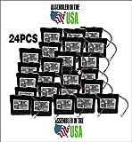 24PCS SAFLOK A28110 6V Hotel Door Lock Battery Fits 884952, A28110, A28100, DL-12/4, HTL-11/13, Intellis, MT