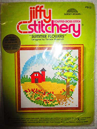 Vintage 1979 Jiffy Counted Cross Stitch