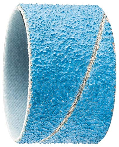 PFERD 41420 1-3/4'' x 1-1/8'' Spiral Band Cylindrical Type, Alu. Ox. INOX 50 (100pk)
