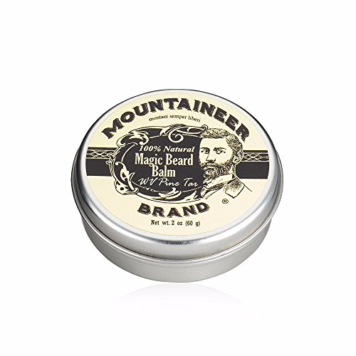 Magic Beard Balm by Mountaineer Brand: All Natural Beard Conditioning Balm (WV Pine - All Luxury Brands
