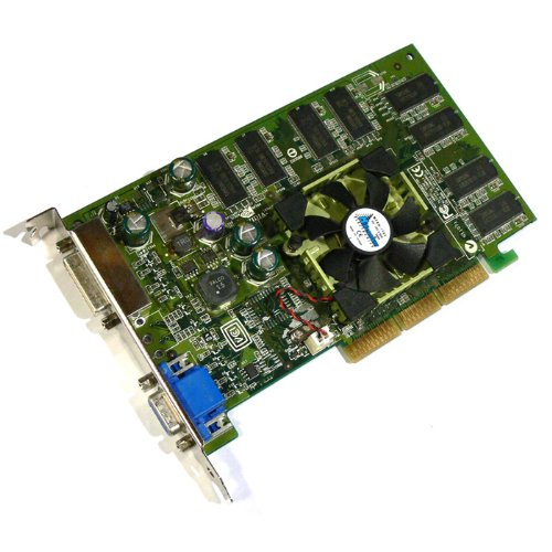 Dell U0842 nVidia Quadro FX500 128MB AGP 8x Video ()
