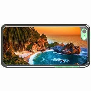 Apple iPhone 5C Case Covered of Big Sur California Black