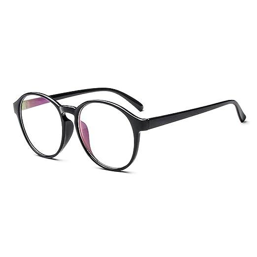 8db0209e340 LOMOL Fashion Korean Design Retro Student Style Transparent Lens Frame  Glasses For Men Women(C1)