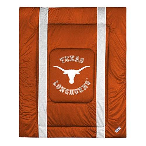 Texas Longhorns Ncaa Comforter - NCAA Texas Longhorns Sideline Comforter Queen