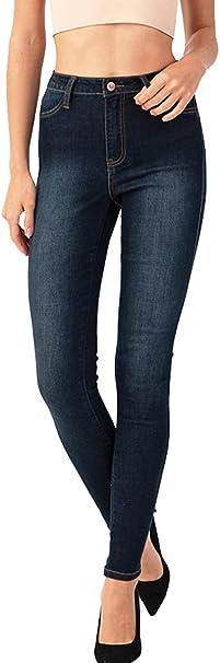 Jvini Denim Skinny Mid-Rise Fashion Jeans