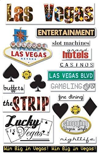 Creative Imaginations Art Warehouse Las Vegas Epoxy Stickers