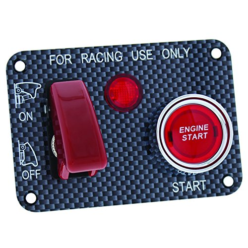 (Pilot Automotive Pilot PL-SW50R Performance Push Button Starter Switch - For Racing Use Only)