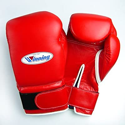 Winning Boxing Gloves 14oz Red Velcro