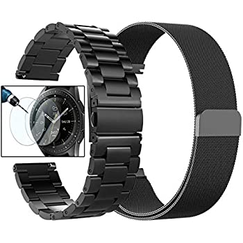 Amazon.com: Simpeak Compatible for Galaxy Watch 42mm Bands ...
