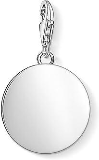Thomas Sabo Femme Pendentif Charm m/édaille tr/èfle Argent Sterling 925 Noirci 1759-637-21