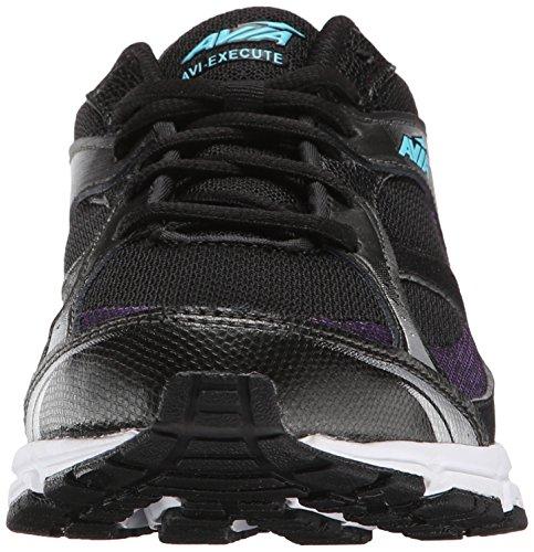 Black Running de Mujer Winter Avia Execute Zapatillas Purple Blue para AVI Majestic qTWISxn0x