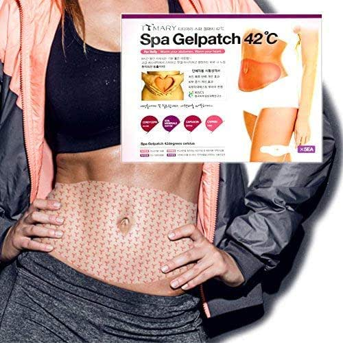 Body Wraps for Slimming and Contouring Abdomen and Bodies with Natural Ingredients by 8 Hours Warming, A Simple Process Usage, Home Spa Treatment in Everyday Life (5 Pcs)