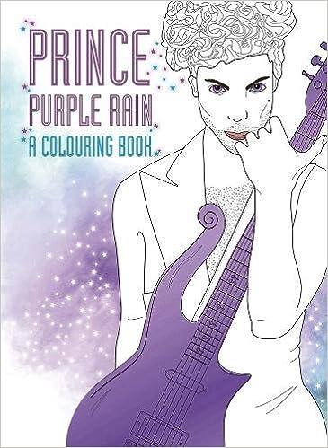 Prince Purple Rain A Coloring Book Coco Balderrama 9780859655521 Amazon Books