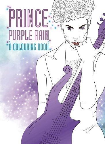 Prince: Purple Rain: A Coloring Book