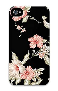 iPhone 4S Case Decorative Pattern Of Oriental Style 4 Pattern Hard Back Skin Case Cover For Apple iPhone 4 4G 4S Cases