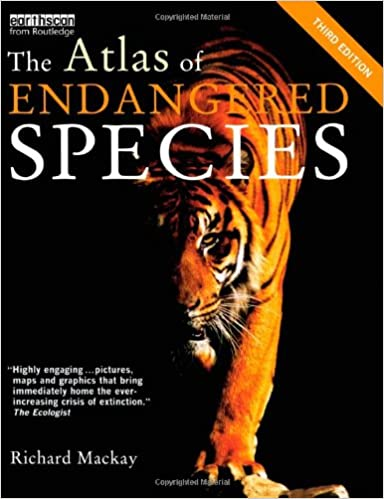 Book The Atlas of Endangered Species (The Earthscan Atlas)