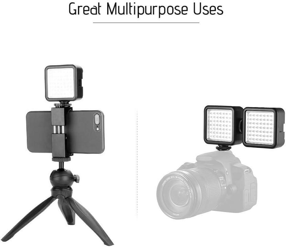 Andoer Led Videoleuchte Video Licht Kameralicht 49 Led Kamera