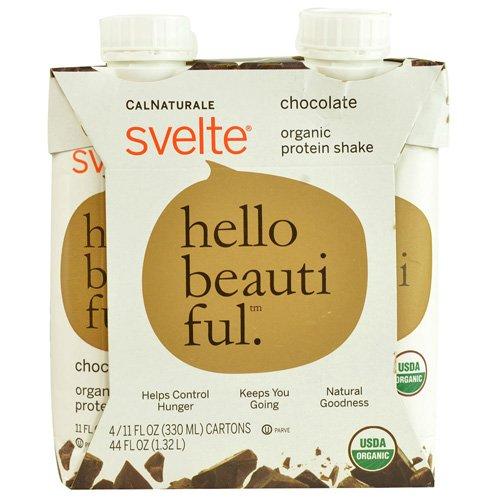 Svelte Hello Beautiful Chocolate Organic Protein Shake, 4 ()