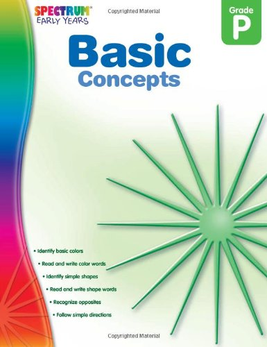 Basic Concepts, Grade PK (Early Years)
