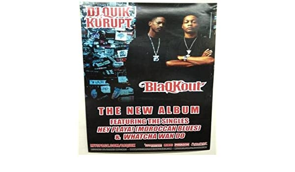 "DJ QUIK  11x17  /""Black Light/"" Poster"