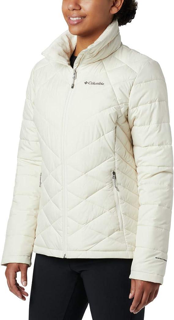 Columbia Women/'s Heavenly Long Hybrid Winter Jacket Down Style Water repellent