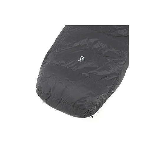 The North Face Schlafsack Inferno -40F/-40C - Saco de dormir momia para acampada (hasta 164 cm, algodón, de 0,5 a 0,99 kg), color gris oscuro, ...