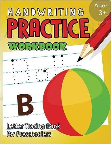 Descargar PDF Handwriting Practice Workbook Age 3 Tracing