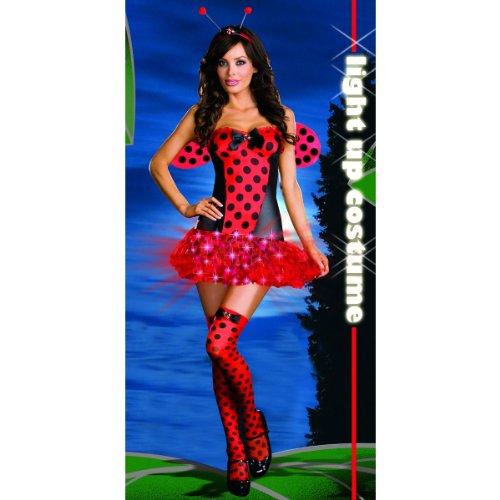 WMU L (Light Me Up Ladybug Dress Costumes)