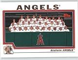 2004 Topps Baseball Card # 638 Anaheim Angels TC (Team Photo Card) Anaheim Angels - MLB Trading Card