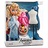 Limited Edition Deluxe Cinderella Doll Set – Disney Animators' Collection Includes 2 New Dresses, Dress Form, Sewing Basket, Bluebird, and Suzy the Mouse., Baby & Kids Zone