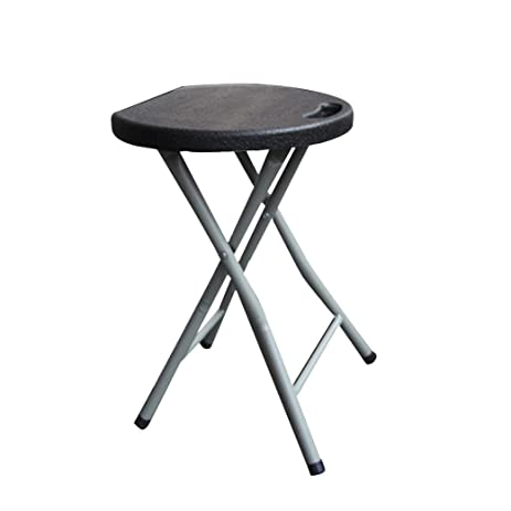 Ankola Folding Stool 18 inch Heavy Duty Study Light Weight Metal and Plastic Folding  sc 1 st  Amazon.com : 18 inch stool for kitchen - islam-shia.org