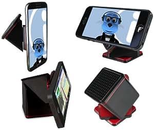 iTALKonline Super Cube NEGRO Universal Dashboard / parabrisas / Escritorio / Tabla Estuche Stick (Uso con o sin su caso existente!) En el soporte soporte de coche para Motorola Defy+