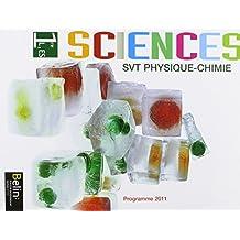 Sciences SVT Physique Chimie 1re L, ES 2011 Élève Petit format