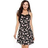 Luxilooks Women's Lace Lingerie Chemise Floral Nightgown