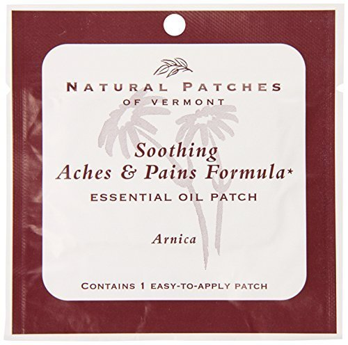 Naturopatch Of Vermont Arnica for Aches & Pains Aromatherapy Body Patches Single Sachet (Pack of 6) by Naturopatch Of Vermont -