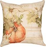 UOOPOO Fashion Cotton Linen Throw Pillow Case Shell Decorative Cushion Cover Pillowcase Pumpkins Farm 18 x 18 Inches