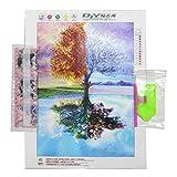 Full DIY 5D Diamond Painting Seasons Tree Patterns Cross Stitch Diamond Embroidery Rhinestones Home Decor Picture