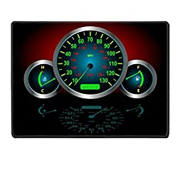Luxlady Placemats IMAGE ID 2986805 Speedometer Fuel Temperature Guages Vector image fully resizable and editable