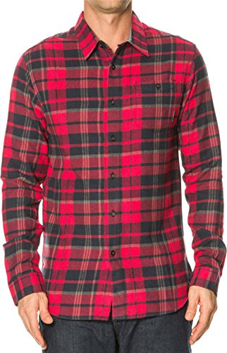 Billabong Boys' (2-7) Rosecrans Flannel Shirt Red 6L