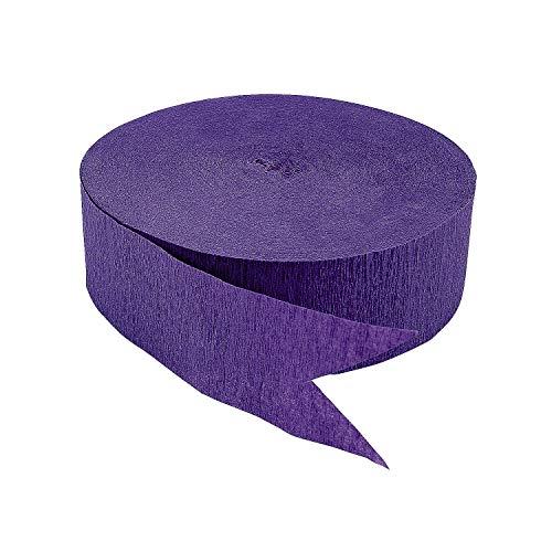 - Purple Jumbo Streamers (500 ft)
