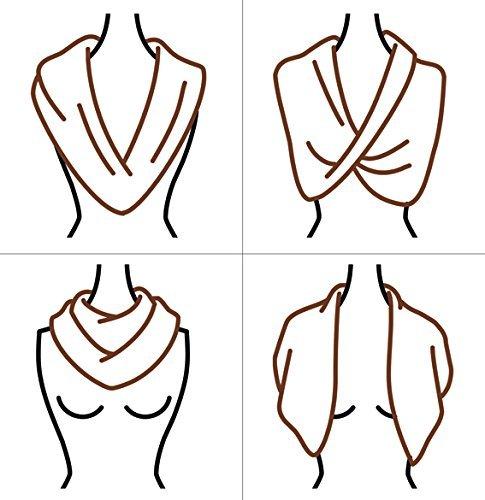 Shrug Wear As A Shawl Sparkling Champagne Wedding Shawl Crisscross Or Infinity Scarf.