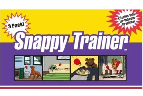 Snappy Trainer Cat Dog Puppy Bad Pet Behavior Corrector Training Method 3-Pack