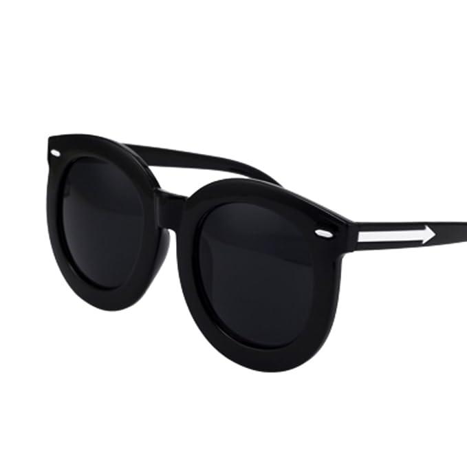 Gafas de sol Grandes redondas gafas de sol Moda retro ...